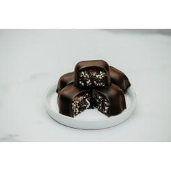Bitter Çikolatalı Malakoff Kahverengi Konik Kutu