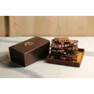 Karışık Beyoğlu Kırma Çikolata Kahverengi Konik Kutu