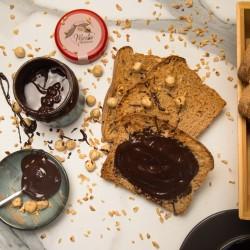 Bitter Çikolatalı Kakaolu Fındık Kreması
